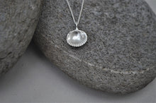 Load image into Gallery viewer, Silver Bawdsey Clam Shell Necklace