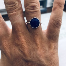 Load image into Gallery viewer, Blue Lapis Deep Sea Ring