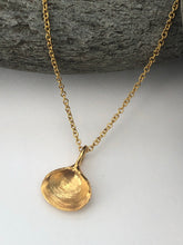 Load image into Gallery viewer, Gold  Walberswick Clam Shell Necklace