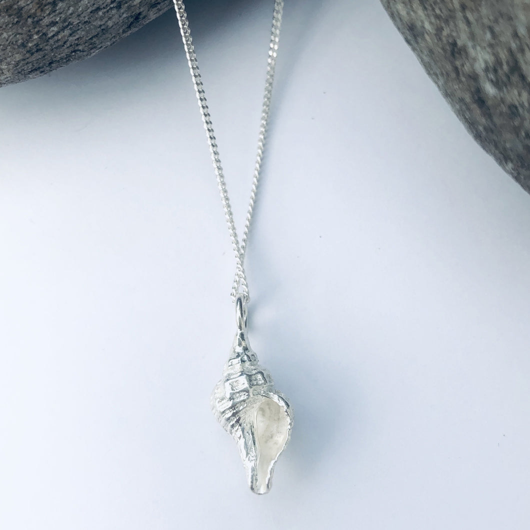 Silver Worlingworth Shell Necklace