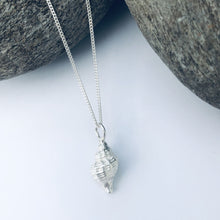 Load image into Gallery viewer, Silver Worlingworth Shell Necklace