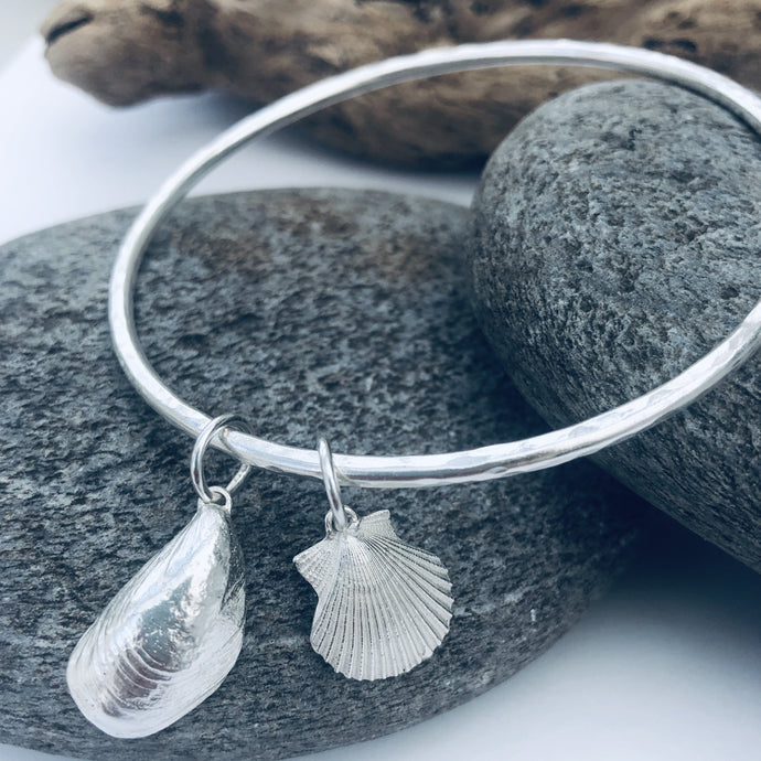 Duo Shell Bangle of your Choice