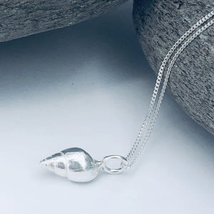 Silver Southwold Shell Necklace