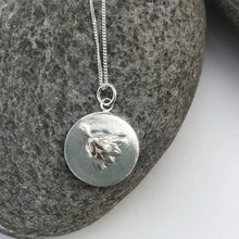 Load image into Gallery viewer, Flower Fossil Pendant