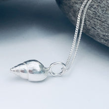 Load image into Gallery viewer, Silver Southwold Shell Necklace