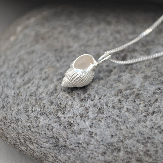 Silver Marlesford Shell Necklace