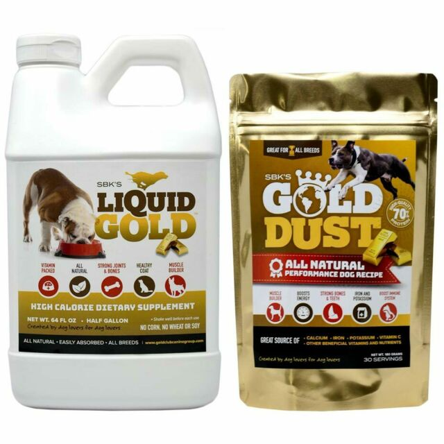 SBK's Liquid Gold & Gold Dust Bundle (One Gallon + One 180 Servings)
