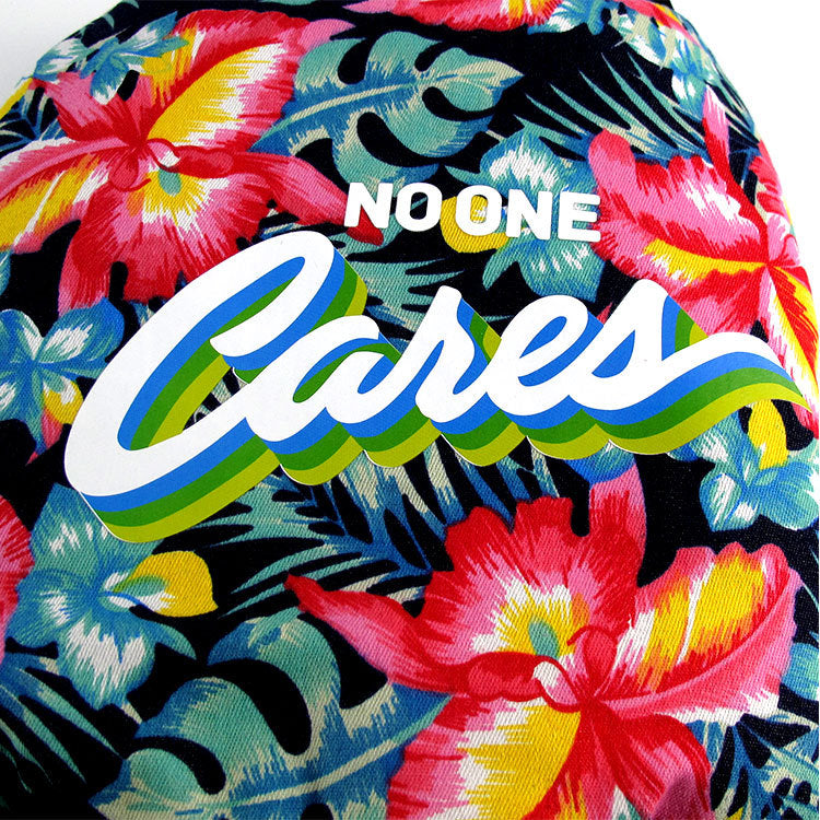 """NO ONE CARES"" Dog Jacket"