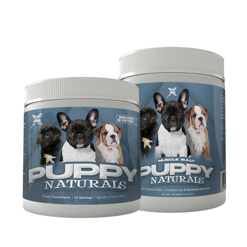 PUPPY NATURALS PUPPY FORMULA STACK (2 ITEMS)
