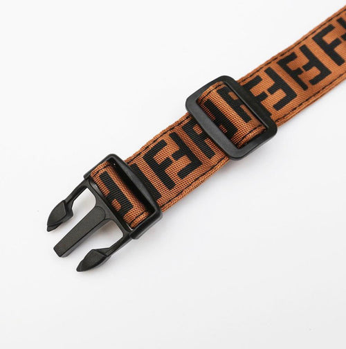 PENDI DOG COLLAR (BROWN)