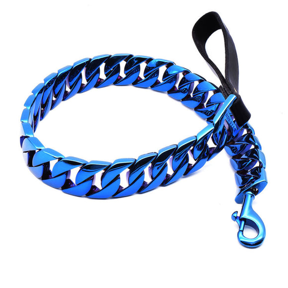 TRINITY BLUE LEASH