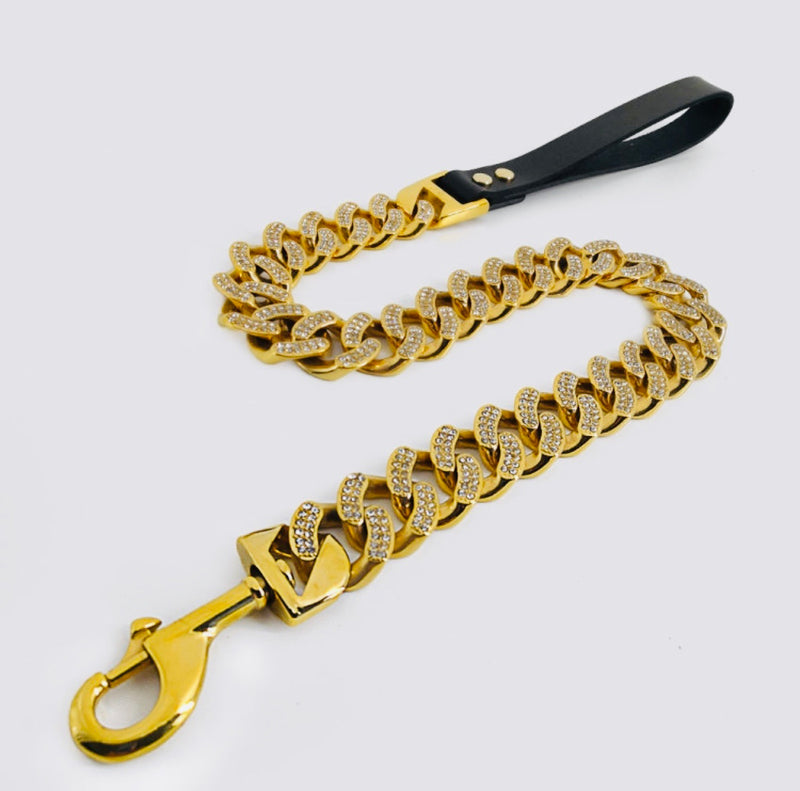 DIAMOND HONEY CUBAN LEASH