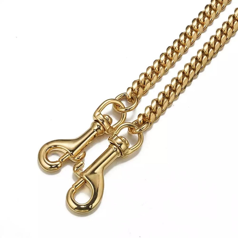MID DUAL HONEY GOLD LEASH