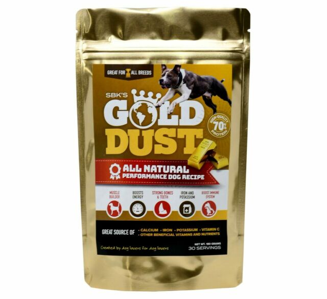 SBK's Gold Dust High Protein Muscle Enhancer (30 Servings)