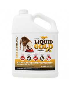SBK'S LIQUID GOLD High Calorie Supplement for Canines and Felines - One Gallon