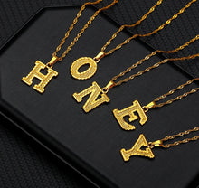Load image into Gallery viewer, Letter Necklace