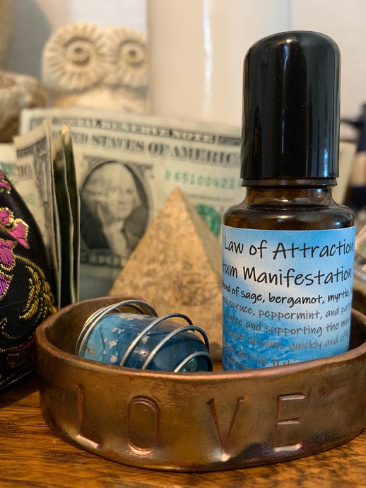 Law of Attraction Quantum Manifestation Oil Blend