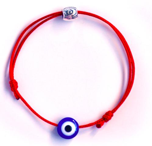 Red String with Evil Eye