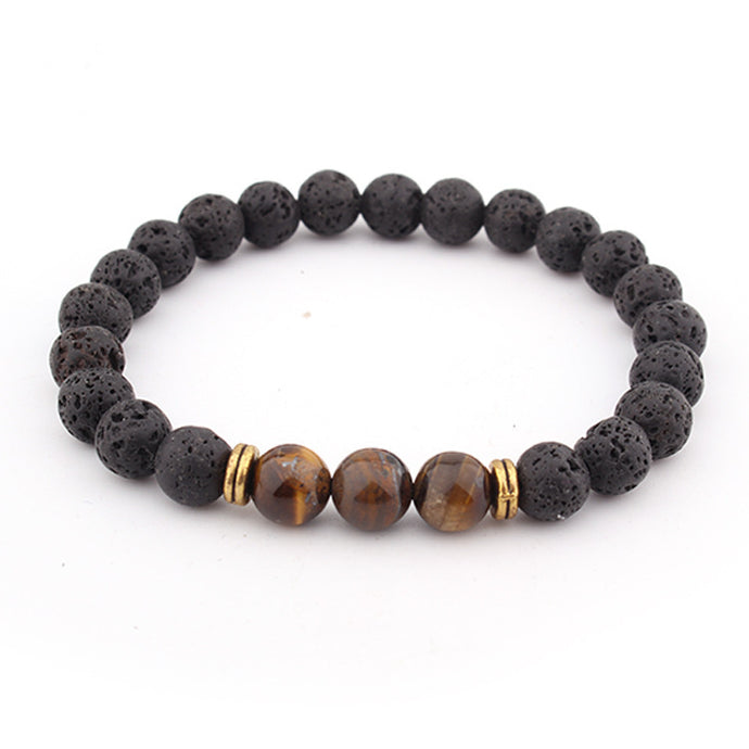 Grounding Tiger Eye Bracelet