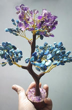 Load image into Gallery viewer, [Limited Time Only] Amethyst and Turquoise Gemstone Tree