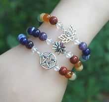 Load image into Gallery viewer, Chakra Charm Bracelet