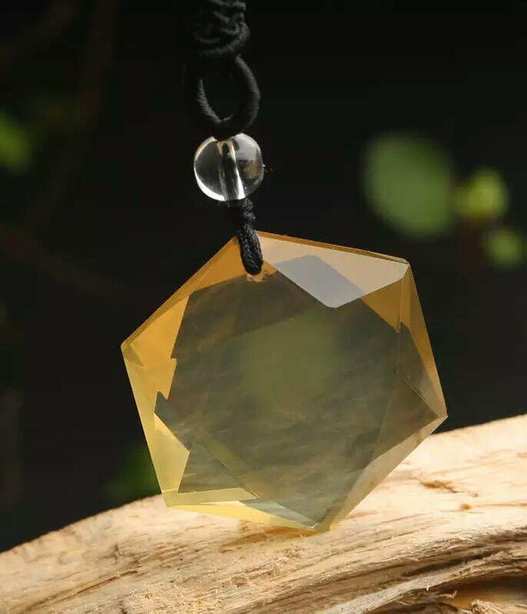 Wealth & Prosperity Citrine Necklace