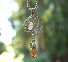 "Load image into Gallery viewer, ""Magic"" Dream Catcher Pendant"