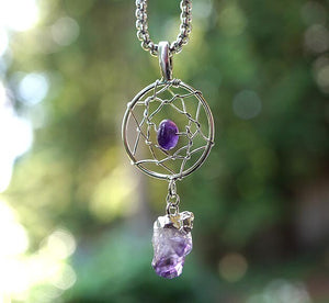 """Magic"" Dream Catcher Pendant"