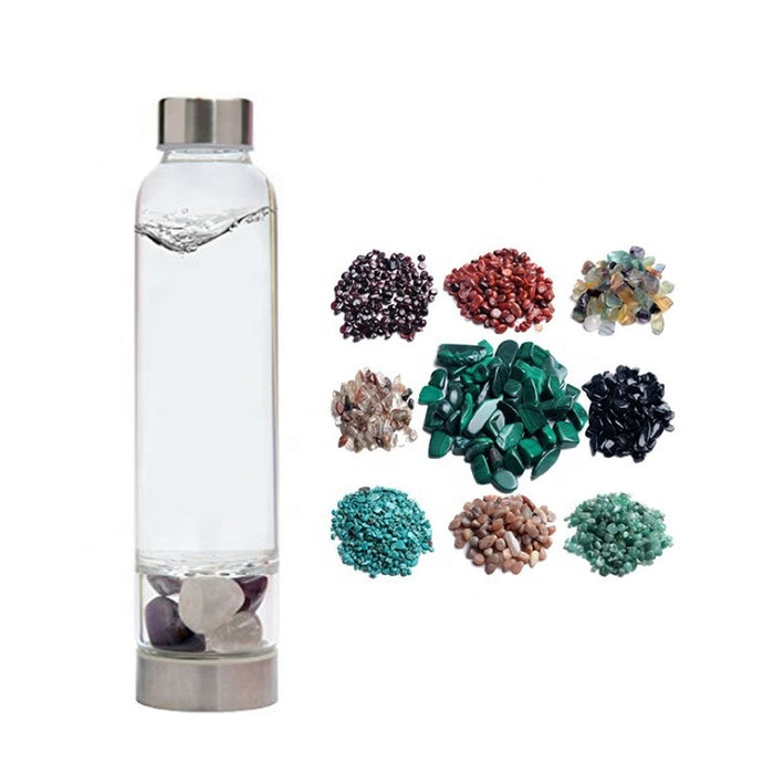 Crystal Infused Water Bottle