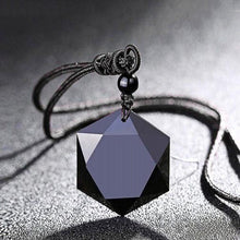 Load image into Gallery viewer, Obsidian Necklace & Bracelet