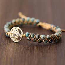 Load image into Gallery viewer, Tree of Life Wrap Bracelet
