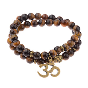 Good Luck Charm Tiger Eye bracelet