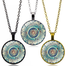 Load image into Gallery viewer, Mandala Glass Pendant