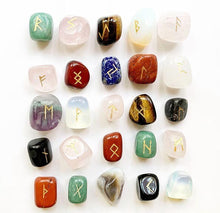 Load image into Gallery viewer, Chakra Multi-Stone Rune Sets
