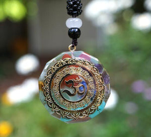 """Magic"" Symbols + Chakras Orgone Pendants"