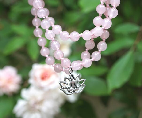 Yoga Lotus Prayer Beads