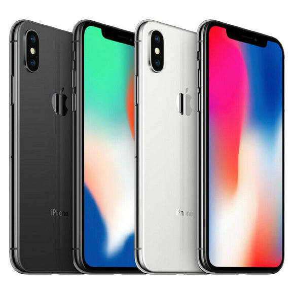 iPhone X (A1865) Unlocked (New)