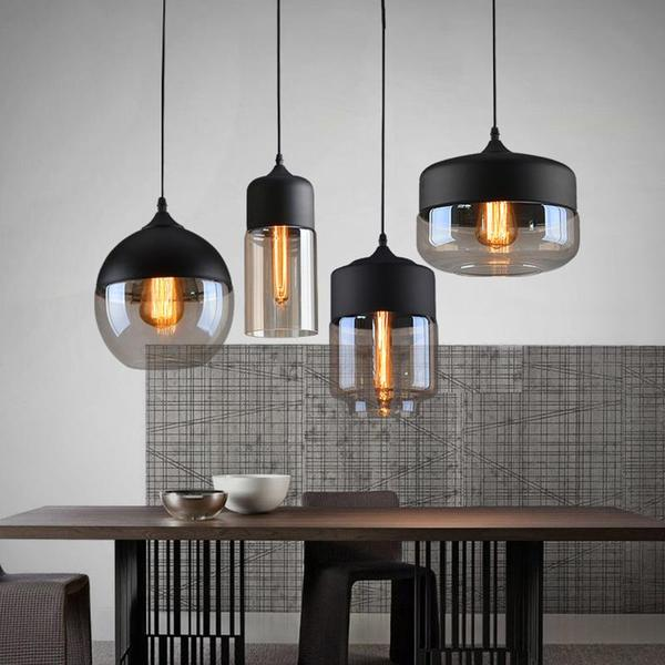 Modern Nordic Glass Pendant Light - Flowydecor