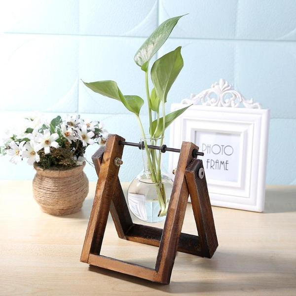 Glass Terrarium Tabletop Planter - Flowydecor
