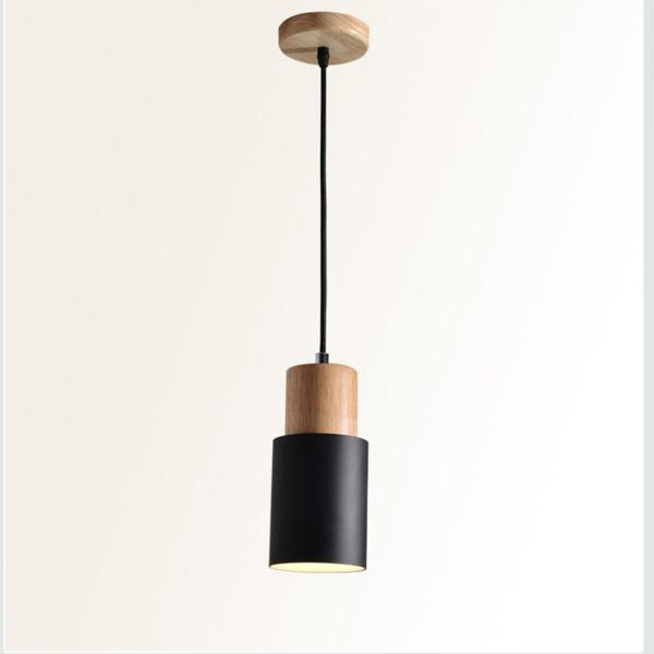 Designer Nordic Wooden Base Hanging Light - Flowydecor
