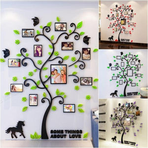 The Photo Family Tree - Flowydecor