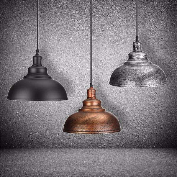 Crios - Vintage Industrial Dome Hanging Lamp