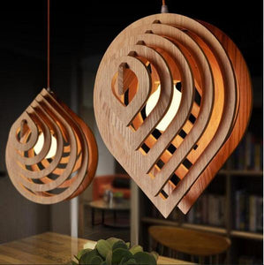 Indre - Art Deco Modern Drop Pendant Light - Flowydecor