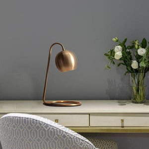 Lark - Copper Plated Retro Table Lamp - Flowydecor
