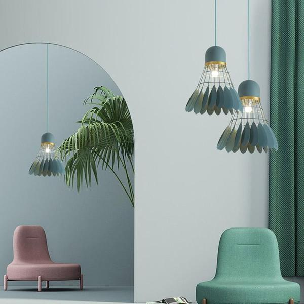 Marbel - Modern Nordic Art Deco Hanging Light - Flowydecor