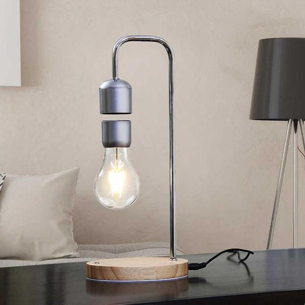 Tau - Levitating Magnetic Floating Bulb Lamp - Flowydecor