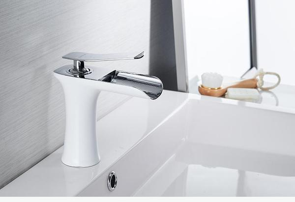 Waterfall Single Handle Basin Faucet - Flowydecor