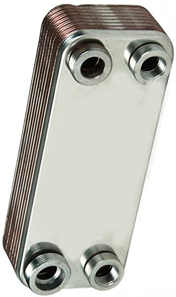 Evinox Brazed Heat Exchanger 10 Plate - Stockshed Limited | Heat Interface Unit (HIU) Division