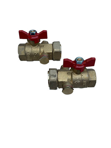 F19518 Caleffi Ball Valves - Stockshed Limited | Heat Interface Unit (HIU) Division