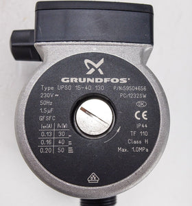 Grundfos UPS0 15-40 130 Replacement Pump - Stockshed Limited | Heat Interface Unit (HIU) Division